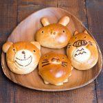 うさちゃん、ライオンさん、クマさん・・・トトロ風・キティちゃん風揃っています!