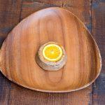 さつま芋の食感と生地の食感の相性が面白い。オレンジピールの酸味が光る!