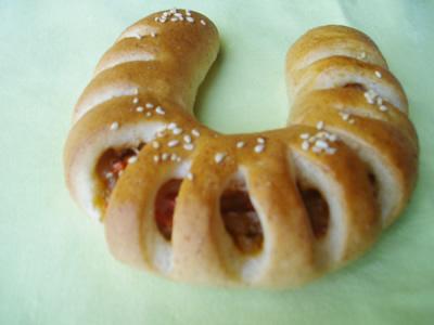 ゴマごぼうパン